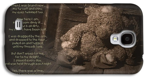 Torn Galaxy S4 Cases - A Child Once Loved Me Poem Galaxy S4 Case by Tom Mc Nemar
