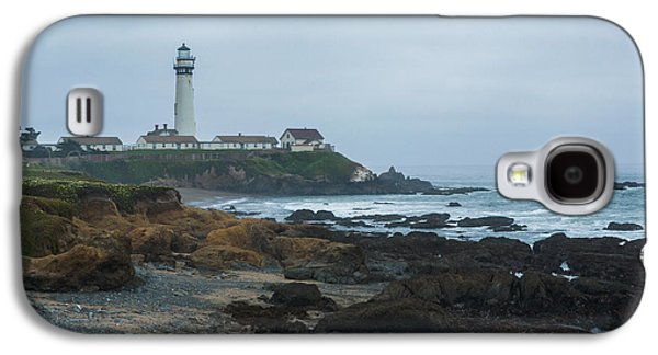 Alga Galaxy S4 Cases - A Cloudy Day at Pigeon Point Galaxy S4 Case by Bryant Coffey
