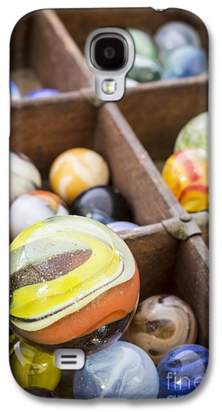 Collection Galaxy S4 Cases - A collection of marbles Galaxy S4 Case by Edward Fielding