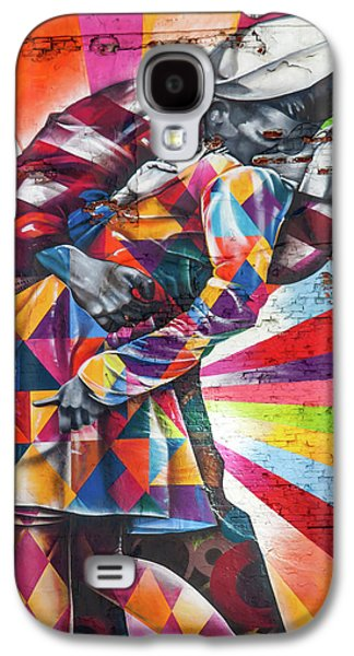 A Colorful Romance Galaxy S4 Case by Az Jackson