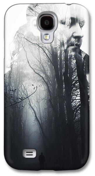 Creepy Digital Galaxy S4 Cases - A dream Galaxy S4 Case by Joanna Jankowska