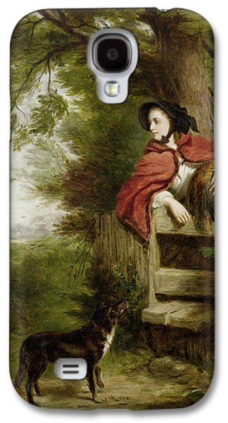 Recently Sold -  - Puppy Digital Galaxy S4 Cases - A Dream Of The Future Galaxy S4 Case by William Powell Frith