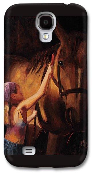 A Girls First Love Galaxy S4 Case by Billie Colson