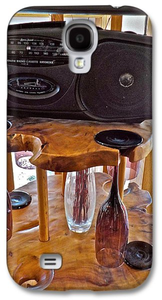 Wine Holder Galaxy S4 Cases - A Great Combo Galaxy S4 Case by Randy Rosenberger