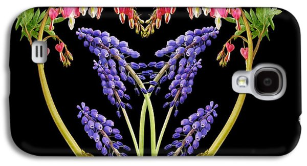 Flower Design Photographs Galaxy S4 Cases - A Heart of Hearts Galaxy S4 Case by Michael Peychich