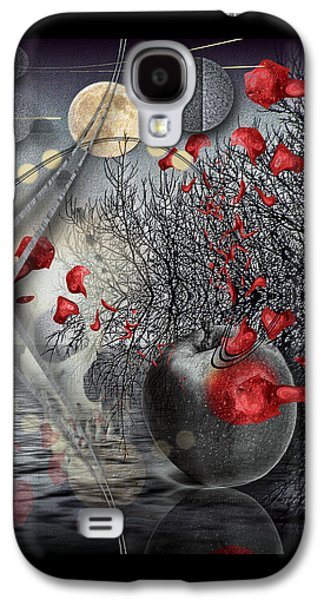 Dreamscape Galaxy S4 Cases - A Little Bit Of Death Between The Worlds Galaxy S4 Case by Mimulux patricia no