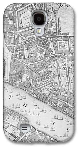 A Map Of The Tower Of London Galaxy S4 Case by John Rocque