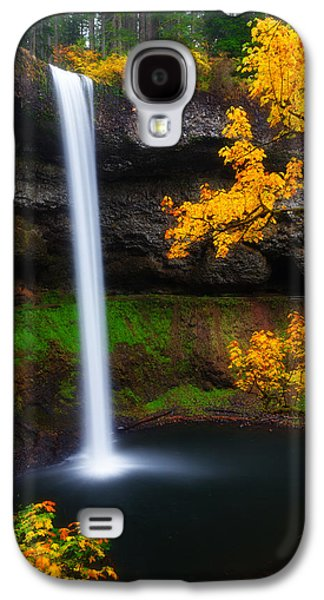 Autumn Landscape Photographs Galaxy S4 Cases - A Moment of Silence Galaxy S4 Case by Darren  White
