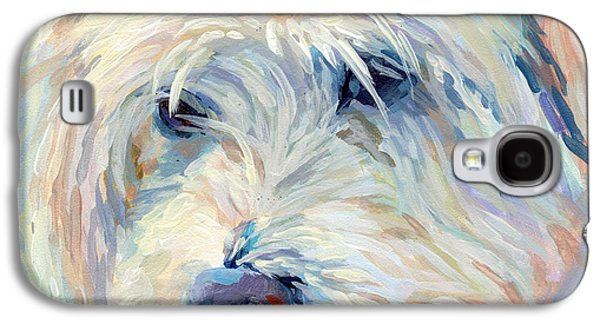 Breeds Galaxy S4 Cases - A Natural Blonde Galaxy S4 Case by Kimberly Santini