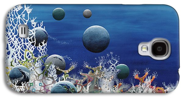 Angel Mermaids Ocean Galaxy S4 Cases - A New World Galaxy S4 Case by Lee Pantas
