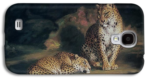 A Pair Of Leopards Galaxy S4 Case by William Huggins