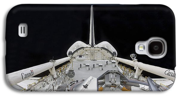 Mechanism Galaxy S4 Cases - A Partial View Of Space Shuttle Galaxy S4 Case by Stocktrek Images
