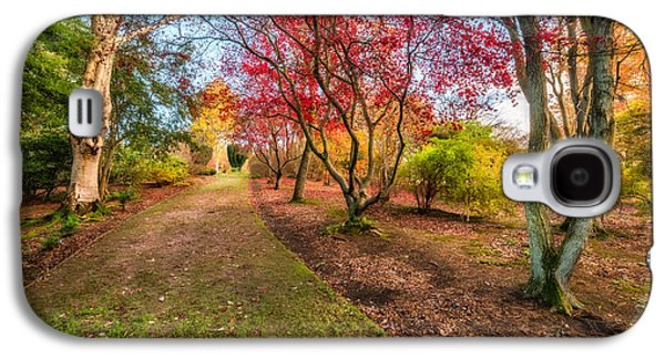 A Path Into Autumn Galaxy S4 Case by Adrian Evans