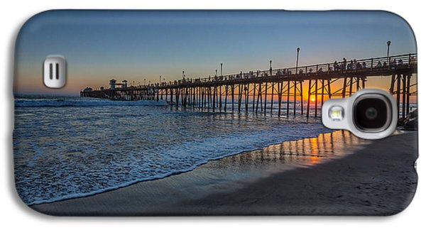 Hdr Landscape Galaxy S4 Cases - A Piers to be Last Light Galaxy S4 Case by Peter Tellone