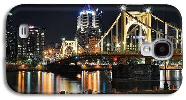 A Pittsburgh Panorama Galaxy S4 Case by Frozen in Time Fine Art Photography