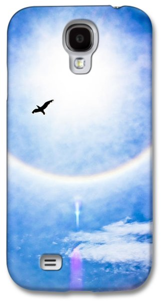 Abstract Nature Galaxy S4 Cases - A Place in the Sun Galaxy S4 Case by Colleen Kammerer