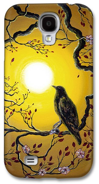 Cherry Blossoms Galaxy S4 Cases - A Raven Remembers Spring Galaxy S4 Case by Laura Iverson