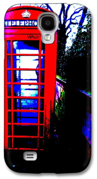 Beatles Galaxy S4 Cases - A retired British classic - The Red Phonebox Galaxy S4 Case by Colin Perkins