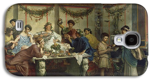 A Roman Feast Galaxy S4 Case by Celestial Images