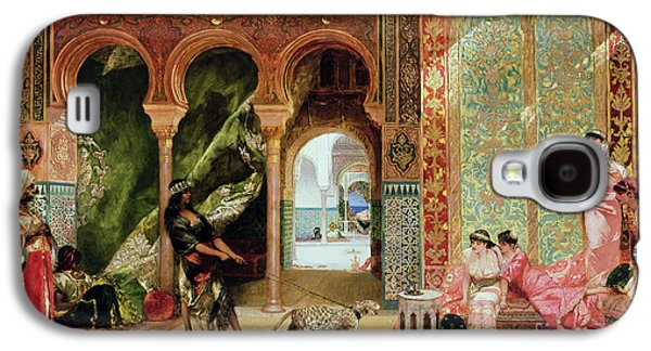 A Royal Palace In Morocco Galaxy S4 Case by Benjamin Jean Joseph Constant