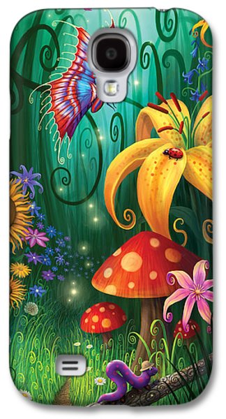 Hidden Galaxy S4 Cases - A Secret Place Galaxy S4 Case by Philip Straub