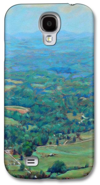 Business Galaxy S4 Cases - A Slow Summers Day- View from Roanoke Mountain Galaxy S4 Case by Bonnie Mason