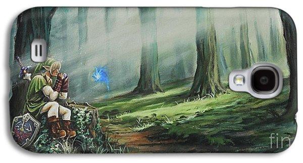 Mystic Galaxy S4 Cases - A Song for Navi Galaxy S4 Case by Joe Mandrick