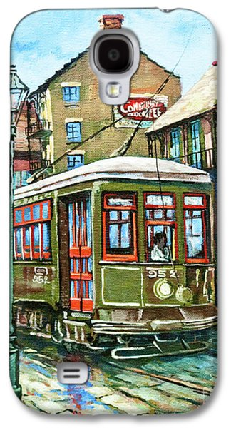 French Quarter Paintings Galaxy S4 Cases - A Streetcar Named Desire Galaxy S4 Case by Dianne Parks