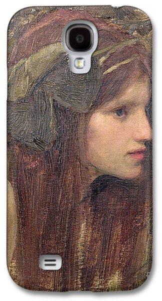 Pre-raphaelites Galaxy S4 Cases - A Study for a Naiad Galaxy S4 Case by John William Waterhouse
