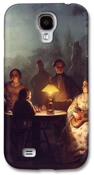 A Summer Evening By Lamp Galaxy S4 Case by MotionAge Designs