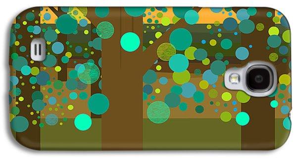 A Summer Evening Landscape Galaxy S4 Cases - A Summer Evening Galaxy S4 Case by Val Arie