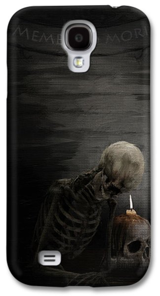 Graveyard Galaxy S4 Cases - A Time To Remember Galaxy S4 Case by Lourry Legarde