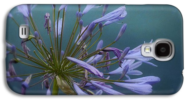 Botanical Galaxy S4 Cases - A Touch Of Purple Galaxy S4 Case by Fraida Gutovich