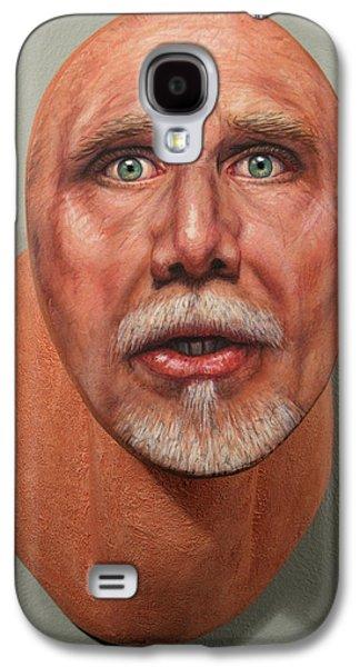 Self Portrait Galaxy S4 Cases - A Trophied Artist Galaxy S4 Case by James W Johnson