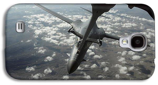 Mechanism Galaxy S4 Cases - A U.s. Air Force Kc-10 Refuels A B-1b Galaxy S4 Case by Stocktrek Images