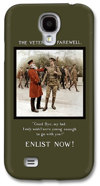 Ww1 Galaxy S4 Cases - A Veterans Farewell - WW1 Galaxy S4 Case by War Is Hell Store