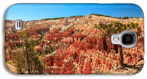Haybale Galaxy S4 Cases - A View From Upper Inspiration Point Galaxy S4 Case by Robert Bales