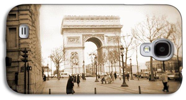 A Walk Through Paris 3 Galaxy S4 Case by Mike McGlothlen