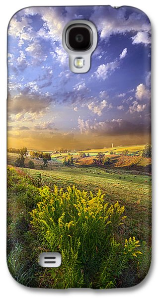 Sun Galaxy S4 Cases - A World With a View Galaxy S4 Case by Phil Koch
