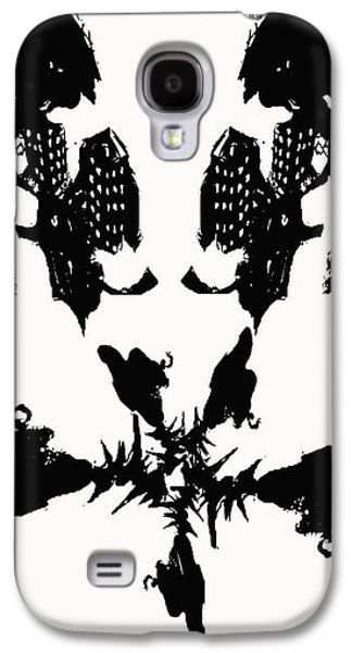 Abstract Digital Drawings Galaxy S4 Cases - A512 Galaxy S4 Case by AR Teeter