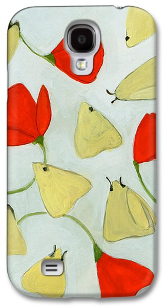 Spring Bulbs Paintings Galaxy S4 Cases - Aak 1630269 Galaxy S4 Case by Megan Moore