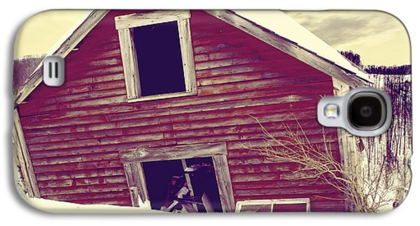 Abandoned Barn Galaxy S4 Case by Mindy Sommers