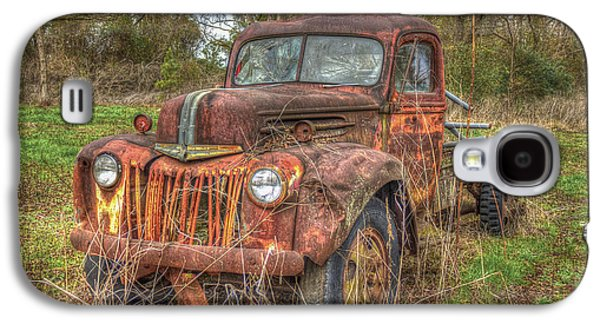 Unused Galaxy S4 Cases - Abandonment 1947 Ford Stakebed Truck Galaxy S4 Case by Reid Callaway
