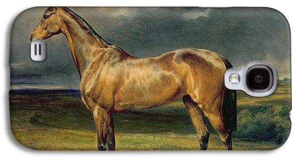 Abdul Medschid The Chestnut Arab Horse Galaxy S4 Case by Carl Constantin Steffeck