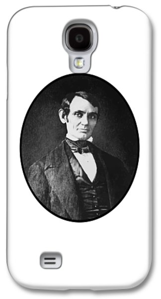 Honest Abe Galaxy S4 Cases - Abe Lincoln As A Young Man  Galaxy S4 Case by War Is Hell Store