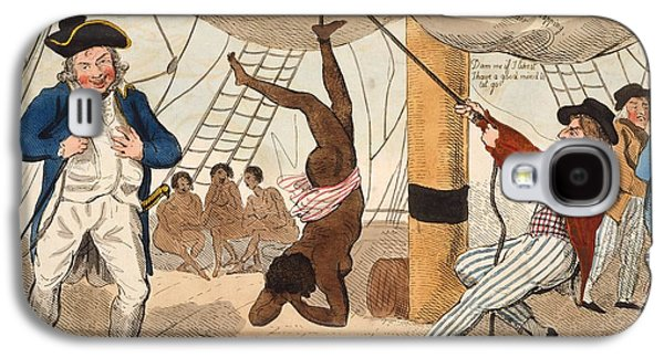 Slaves Drawings Galaxy S4 Cases - Abolition Of The Slave Trade Or Galaxy S4 Case by Ken Welsh