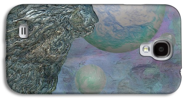 Abstracts Galaxy S4 Cases - Above The Clouds Galaxy S4 Case by Jack Zulli