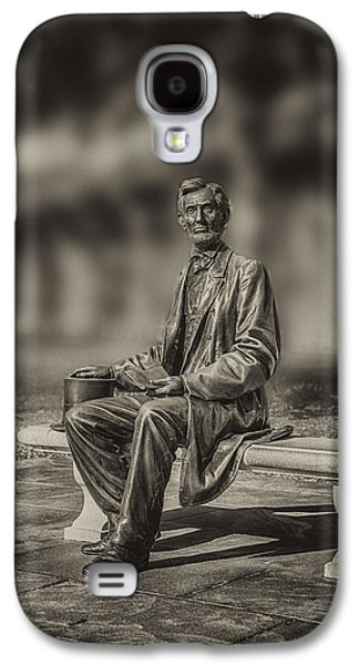 Abraham Lincoln At Gettysburg Galaxy S4 Case by John Haldane