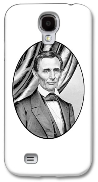 Abraham Lincoln Galaxy S4 Cases - Abraham Lincoln Circa 1860 Galaxy S4 Case by War Is Hell Store