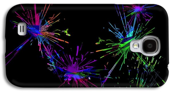 Colorful Abstract Galaxy S4 Cases - Abstact 392 Galaxy S4 Case by Judi Suni Hall